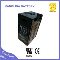 kanglida2016 hot sale 2v 500ah for solar system battery