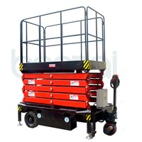 6m Self-Propelled Scissor Lift Platform For Higer Working