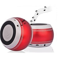 Bluetooth 4.0 Wireless Q8 War Drums Speaker TF Card CNC Technology Hands Free Phone Call Receive