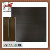 Wood grain pvc coated sheet metal for refrigerator