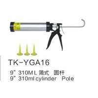 TK-YGA16 310ml Smooth Round Rod Caulking Gun
