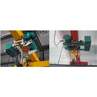 low headroom wire rope electric hoist