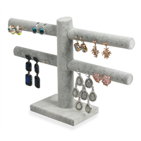 Earring and Finger Ring Combined Displays Stand