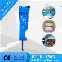 BLTB-150B Close Type Hydraulic Breaker Hammer for 25-30 Ton excavator