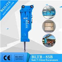 BLTB85 85mm chisel hydraulic hammer for 7-14ton excavator
