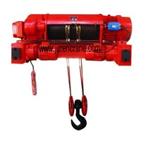 wire rope electric hoist with trolley