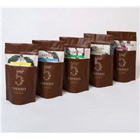 Zip Lock Coffee Packaging Pouch Bag