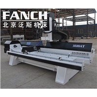 STONE CARVING marble granite stone column engraving machine