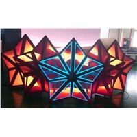 5-star LED DJ booth, indoor P5