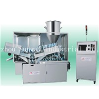High Speed Two Nozzle Laminated Tube Filling and Sealing Machine for Cosmetic Toothpaste