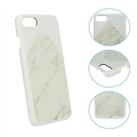 phone protectors for iphone7 real natural marble PC case