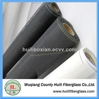 vinyl coated grey color 18*16 mesh fiberglass insect screen