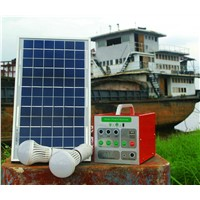 5W Solar Home Lighting System with Dimmable Function for the Light