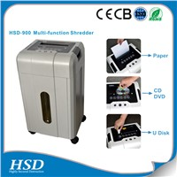 HSD 900 CE certificates office equipment documents paper shredder machine