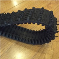 Mini Robot Rubber Track with Driving/Supporting Wheels (100*20*76)
