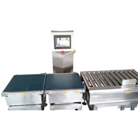Online testing and weighing packaging machine for box JLCW-20
