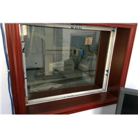 X-ray Observation Window Lead Glass