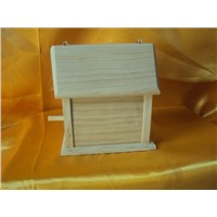 Customized Bottom Price Wooden Bird Feeder