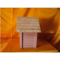 High Quality Bottom Price Wooden Bird House