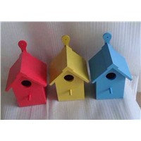 Handmade Bottom Price Wooden Bird Feeder