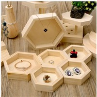 Customized High Quality Wooden Jewelry Display Hamper
