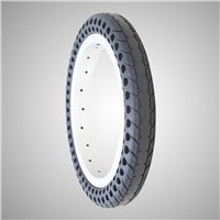 12 Inch No Air Solid Tubless Tire for Kid Bike