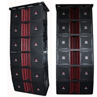 Dual 15'' Line Array Speaker Outdoor Four Way Line Array