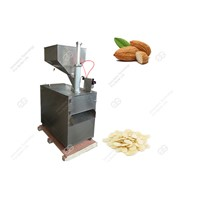 Automatic Peanut Slice Cutting Machine|Almond Slicing Machine