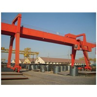steel factory double girder gantry crane
