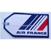 Air France Remove Before Flight Embroidery Keychain