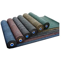 heavy duty colored  rubber epdm sports flooring roll. 3mm to 15mm thick