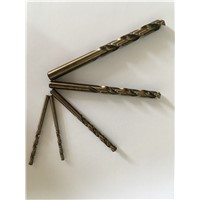 DIN338 Co8% HSS M42 Twist Drill Bit For Metal