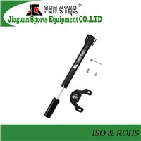 Good Quality Mini Aluminum 6063 Bicycle Pump with Plastic Head