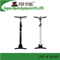Hot-sale Aluminum 6063 Bicycle Floor Pump Fits in Schrader & Presta