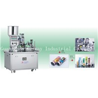 Inner Heating Type PE Tube Cosmetic Cream Filling and Sealing Machine