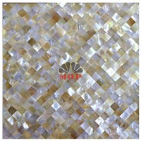 luxury rhombus wall mosaic shell decoration tile
