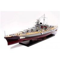 BISMARCK WOODEN MODEL SHIP