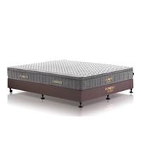 3D material euro pillow top bonnell spring mattress