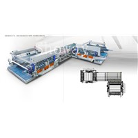Glass Double Edging Machine Production Line
