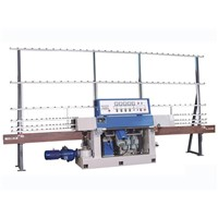 Glass Edge Polish Machine with 4 Spindles