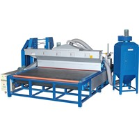 Horizontal Glass Sandblasting Frosting Machine