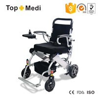 Lightweight folding electric wheelchair for disabled