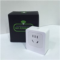 Wi-Fi Smart Power Socket Outlet AU Plug, Turn ON/OFF Electronics from Anywhere, White