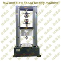 Low and Slow speed Testing Machine System