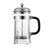 Borosilicate Glass French Press Coffee & Tea Maker