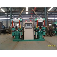 Rubber Hydraulic Vulcanizer Press For O-ring Making