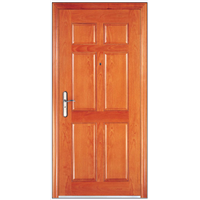 Simple design solid wood door Foshan Factory