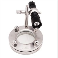 TSL Flange Type Sight Glass with Light Indicator