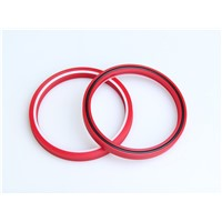 U-cup seal loaded O ring seal combined rod seal