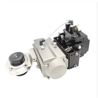 VBN Pneumatic Butterfly Valve with Positioner